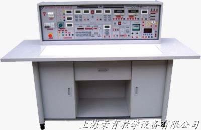 继电接触器,按钮,时间继电器等独立做成箱式,元器件接线端口引至电学