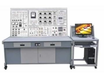 白炽灯异地控制,日光灯电路连接,电能测量实训;该挂板也可完成电工