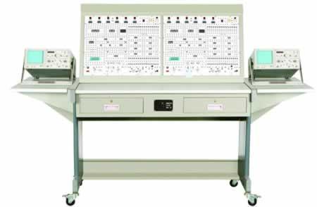双组型数字电路实验装置,数电实验台-电工电子电力-荣