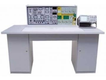 模电实验在实验台中央九孔通用电路板上进行