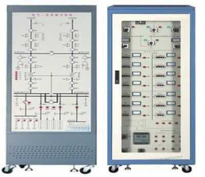《电力系统继电保护原理》等课程的实训教学要求,结合建筑供配电系统