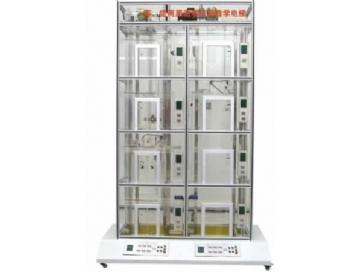 液压货梯控制箱接线图