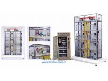 二. 客货两用透明仿真电梯教学模型基本结构 1.