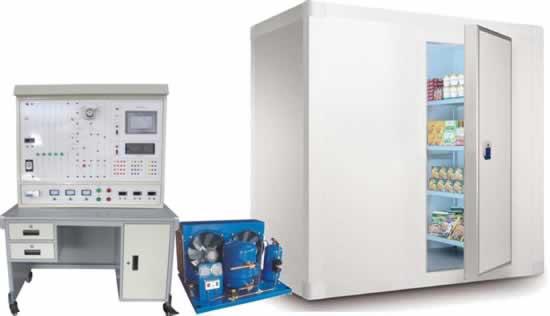 tryjd-03c小型冷库制冷系统综合实训考核装置-制冷